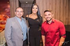 Fábio Ambrósio, Niara Meireles e Daniel Viana
