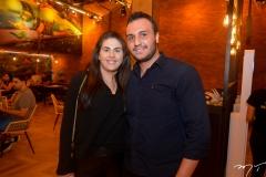 Bruna Pontes e Fernando Azevedo
