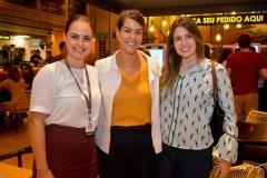 Fabiola Roes, Juliana de Fátima e Maria Eugenia