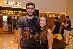 Gustavo Luna e Samyra Oka