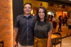 Henrique Mapurunga e Ingrid Machado