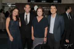 Ana Cristina, Tarso e Magda Melo e Gonzalo Mota
