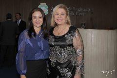 Érica Maciel e Priscila Cavalcante