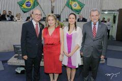 João Soares Neto, Iracema do Vale, Manoela Queiroz Bacelar e José Sarto