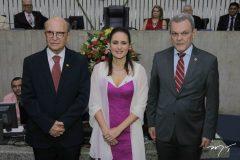 João Soares Neto, Manoela Queiroz Bacelar e José Sarto