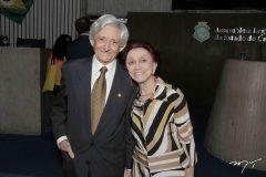 Linhares Filho e Maria Linhares