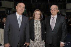 Luciano Lima, Edith Bringel e Fernando Ximenes