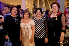 Isabel Arruna, Miriam Almada, Marilane Ferrer e Miris Dantas