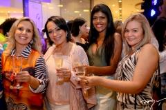 Jarice Godoi, Ticiana Almada, Carol Batista e Seli Brito