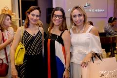 Juliana Carneiro, Ana Paula Domeni e Mabel Portela