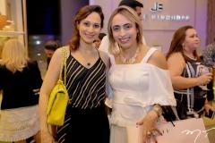 Juliana Carneiro e Mabel Portela