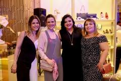 Karla Nogueira, Niedja Bezerra, Viviane Almada e Ana Cecilia Sousa