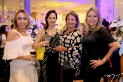 Mabel Portela, Juliana Carneiro, Karina Bezerra e Talynie Mihaliuk