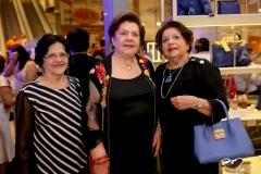 Marilane Ferrer, Miris Dantas e Isabel Arruna