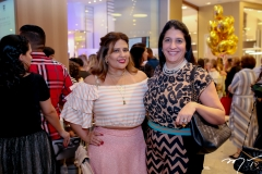 Montiele Arruda e Elisa Oliveira