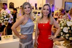 Nely Cunha e Ingrid Romero