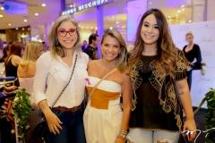 Rejane Belchior, Vanessa Queiros e Larissa Meira