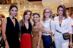 Synara Leal,Karine Ferraz,Roberta Qauranta,Rejane Belchior e Natalie Pires