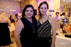 Viviane Almada e Juliana Carneiro