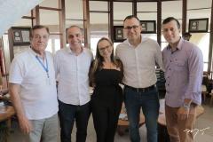 Ivon Levy, Lincoln Davi, Raissa Bisol Carlos Alberto E Reurison Andrade