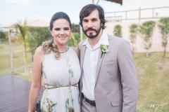 Aline Carvalho e Germano Barros