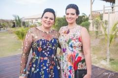 Ana Cláudia Martins e Luciana Silva