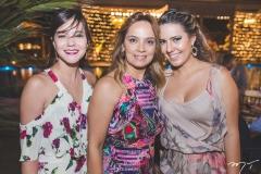 Andressa Menezes, Cristina Tavares e Gabriela Alencar