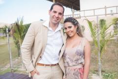 Cláudio e Gabriela Alencar