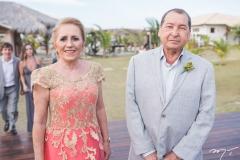 Elizabeth Barros e Dr. Chagas