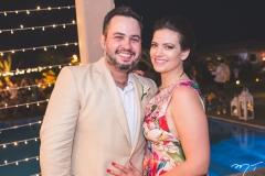 Fernando Filho e Luciana Silva