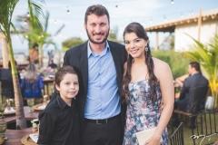 Igor, Rodrigo e Raquel Leite