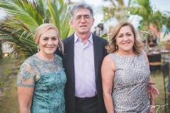 Iracema Carneiro, Paulo César e Margareth Pontes