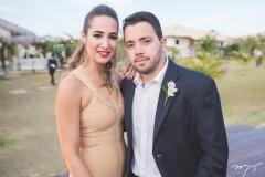 Naiana Lacerda e Vitor Aragão