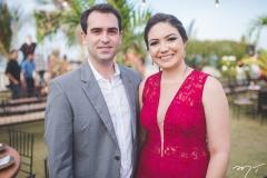 Paulo Barros e Larissa Peixoto
