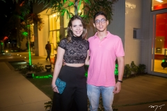 Érica Macedo e Heitor Lima