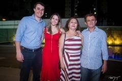 André Lorezoni, Ellen e Ana Mourão e Jorge Lopes