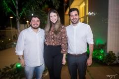 Bruno Lopes, Bárbara Lobo e Marcos Soares