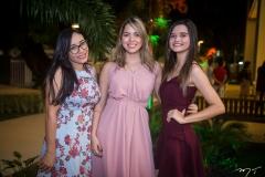 Claudia Caline, Samara Albuquerque e Shirley Cavalcante