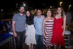 Emanuel Furtado, Emily Mourão, Jorge Lopes, Ana e Ellen-Mourão