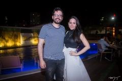 Emanuel Furtado e Emily Mourão
