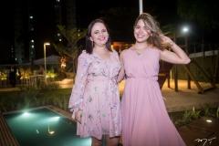 Taiana Claudia e Samara Albuquerque