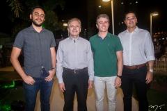 Tiago Parente, Otacílio Valente, Ronaldo Barbosa e Daniel Arruda