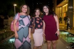 Ulla Ribas, Tatiana Guilherme e Brenda Alves
