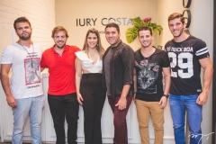 André Guerreiro, Cláudio Nelson, Amanda Costa, Iury Costa, Cleiton Holanda e Matheus Nogueira