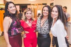 Andressa Ley, Naitla Silva, Juliana Alves e Camila Farias