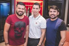 Davi Morais, Fagner Barros e Reinaldo Lima