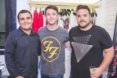 Manni, Willian Browne e Lucas Coelho