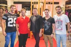 Matheus Nogueira, Cláudio Nelson, Iury Costa, Cleiton Holanda e André Guerreiro