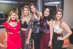 Naitla Silva, Patricia Santiago, Alexia Duarte, Andressa Ley e Amanda Costa