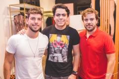 Pedro Campos, Rodrigo Machado e Cláudio Nelson